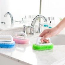 Sponge Brush Window Groove Tiles Barthroom Stove Cleaning  Household Kitchen Dust Tool Tile Cleaner