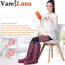 Electric Air Pressure Foot Massager Multi Function Beauty Apparatus With Physiotherapy Hand Held Controller  Feet & Calves