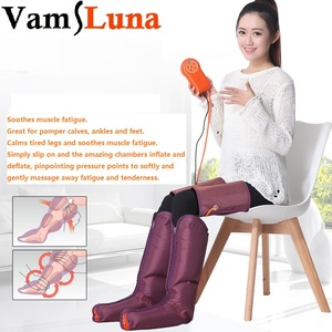 Image 1 - Electric Air Pressure Foot Massager Multi Function Beauty Apparatus With Physiotherapy Hand Held Controller  Feet & Calves
