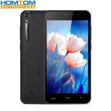 3000 mAh Homtom HT16 5.0 pouce 3G Smartphone MTK6580 Quad Core 1 GB RAM 8 GB ROM Réveil Geste 5MP Caméra Mobile Téléphone