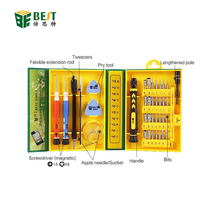 BST-8921 38 in 1 täppis mitmeotstarbelise kruvikeeraja komplekti - Tööriistakomplektid - Foto 3