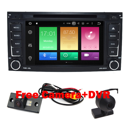 imágenes para 2017 Nuevo DVD Del Coche 2DIN Android 6.0 para VW Touareg 2004-2012 T5 Multivan Navegación DVD Android 8 core 2G RAM 32G ROM 3G 4G WIFI
