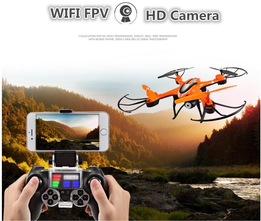 Aerial remote control helicopter T30CW 2.4G adjust speed professional WIFI FPV real-time RC drone with 720P adjustable camera цены