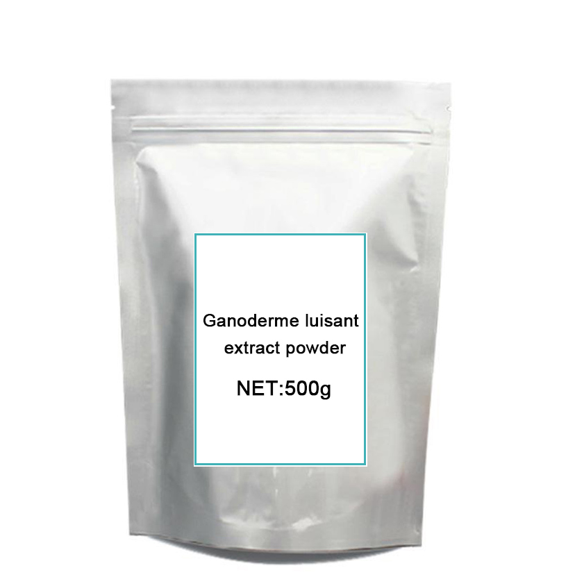 500g Ganoderma lucidum Extract Pow-der/Reishi Mushroom Extract Polysaccharide &Triterpene 10:1 500g artichoke extract pow der antioxidan liver protection product