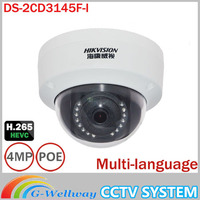 Hikviosn DS 2CD3145F I Replace DS 2CD2145F IS 4MP Camera Support H 265 HEVC With TF