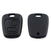 2 Button without Blade Remote Car Key Case Shell Fob For Citroen C1 C2 C3 Pluriel
