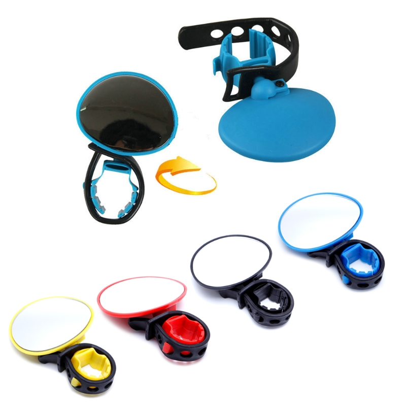 360 degree Rotate Rearview Handlebar Glass Mirror Bike Rearview Mirror Bicycle Cycling Reflector mirror