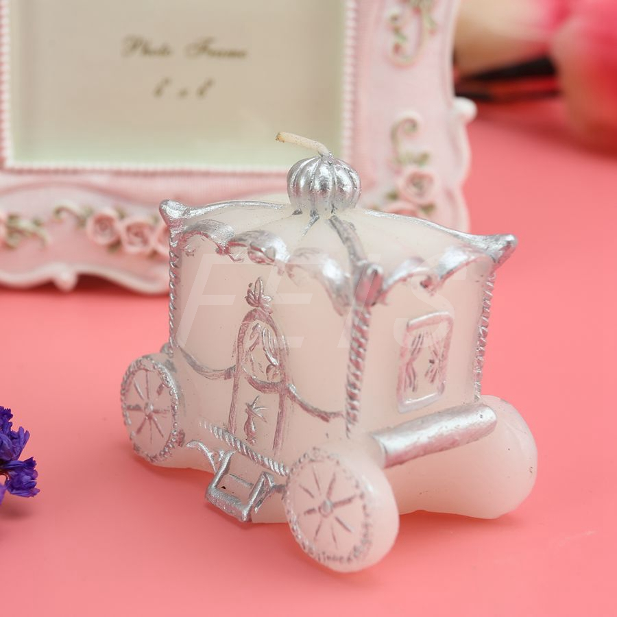 pumpkin princess cinderella carriage Birthday candle wax Wedding ...