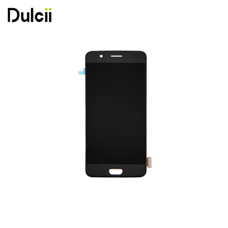 Dulcii para OnePlus 5 OEM Tela LCD e Digitador Assembléia para Um Mais 5-Preto