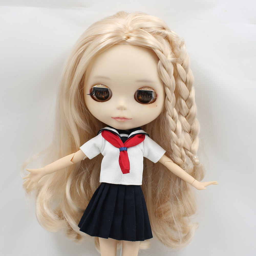 Neo Blythe Doll Sailor Uniform With Leggings 4