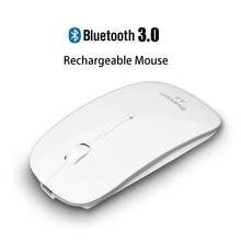 Ухуру Перезаряжаемые USB Bluetooth 3.0 Беспроводной мыши немой Тихая Нажмите мини бесшумные оптическая мышь 1200 Точек на дюйм для портативных ПК
