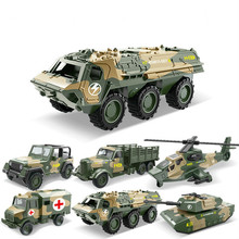1:52Children Alloy ABS Military Model Simulation Vehicle Tank Transport Helicopter Armored Vehicle Die Casting Birthday Toy 1 55 children s toys pull back alloy vehicle three military suit tank armored vehicle medical vehicle helicopter model toy gifts