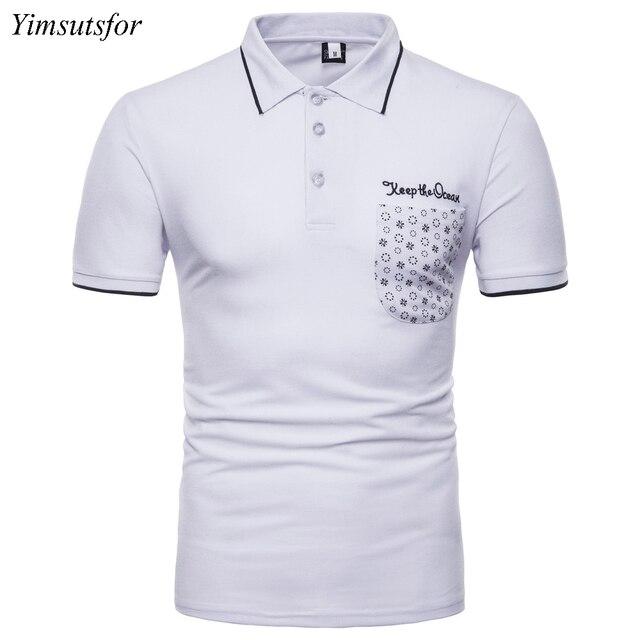 Aliexpress Com Buy Markyi 2018 New Fashion Embroidery Mens Polo