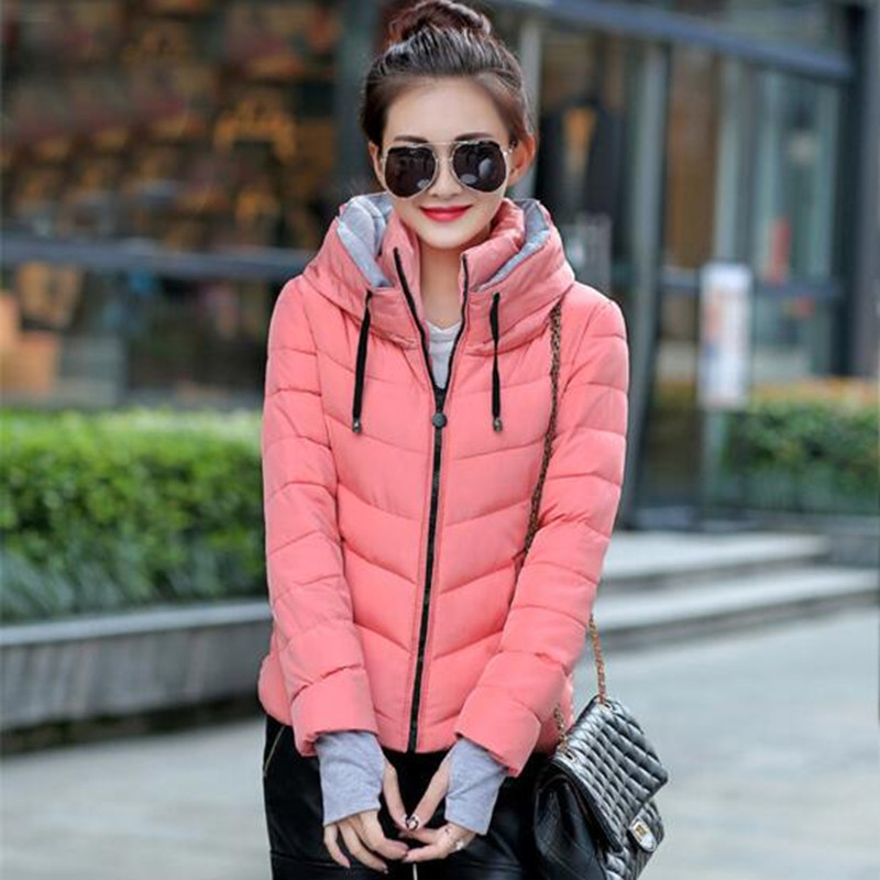 Cotton padded jacket,Fashion short style hooded winter jacket women,coat,  parkas   for women winter,female overcoat,  parkas   TT1171