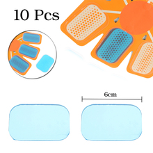 10Pcs=5pairs EMS Abs Hip Trainer Replacement Slimming Pads Sheet Abdominal Toning Muscle Accessories Gel Sheets