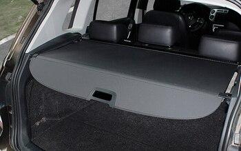 Aluminium alloy + Fabric Rear Trunk Security Shield Cargo Cover For Volkswagon VW Tiguan 2009 2010 2011 2012 2013 2014 2015