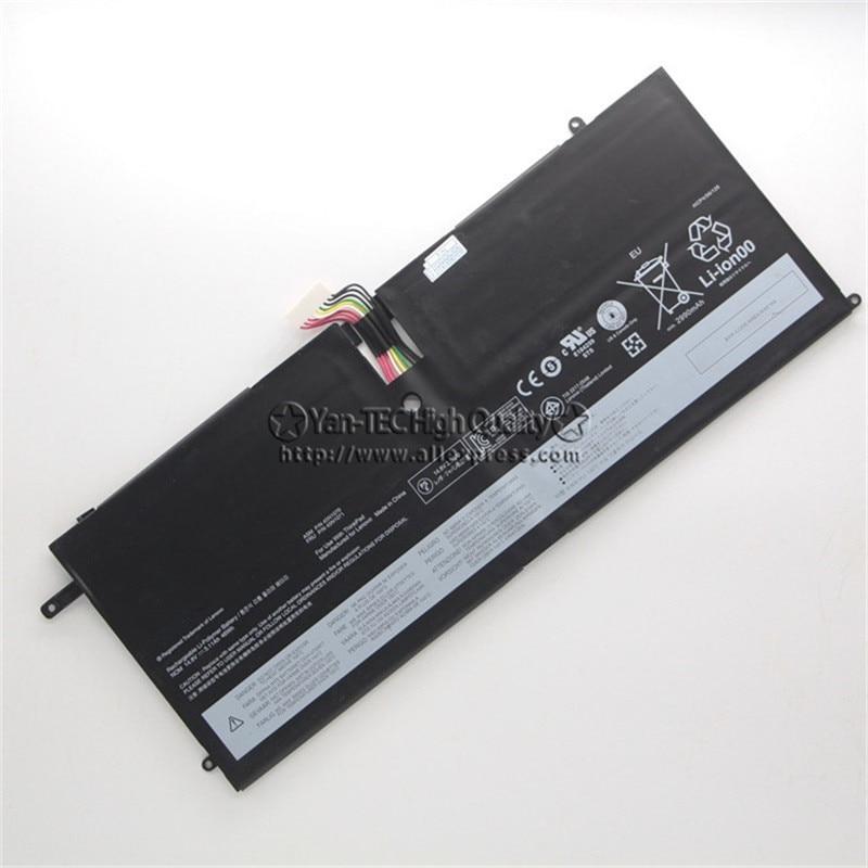 14.8V 46Wh Original Battery 45N1070 for Lenovo ThinkPad X1 Carbon 45N1071 Free Shipping new original 14 8v 46wh laptop battery for lenovo thinkpad x1 carbon gen 1 3444 3448 3460 45n1070 45n1071
