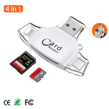 Micro SD TF Card Reader Flash Memory card adapter for Apple iPhone iPad Android Phone MacBook Computer