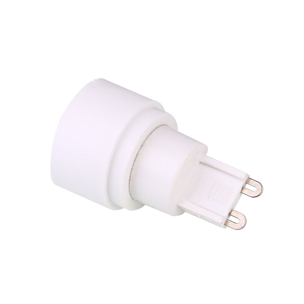 G9 To E14 LED Lamp Bulb Base Conversion Holder Converter Socket Adapter Fireproof Material For Home Light Lamp