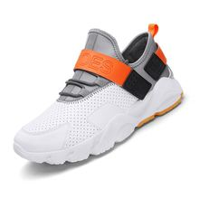 LAISUMK New 2019 City Men Casual Shoes Brand Walking Breathable Footwear Male Designer Lace Up Flats