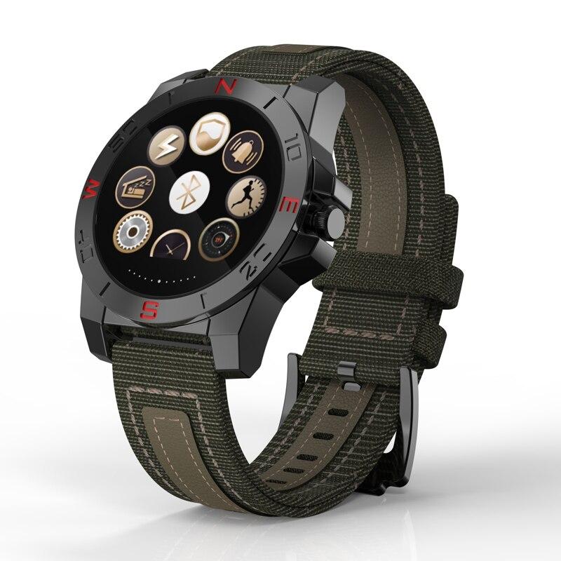 N10 Blutooth 4,0 Спорт на открытом воздухе Смарт-часы монитор сердечного ритма военные часы Fithess Tracker Компас SMS WeChat для iOS и Android