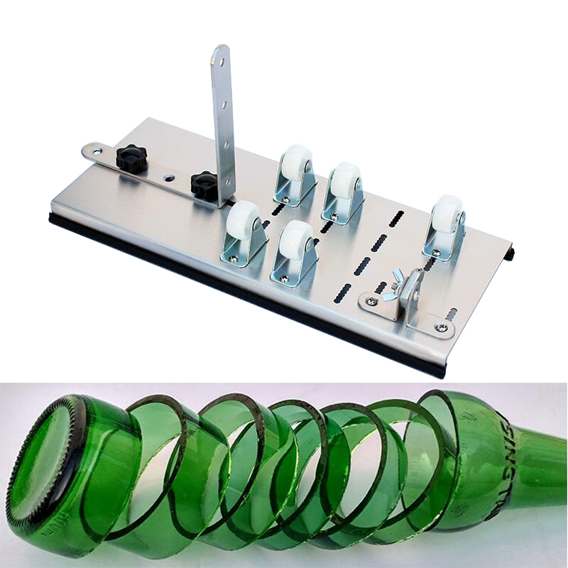 In acciaio inox bottiglia di vetro cutter, professionale nuovo design di birra bottiglia di vetro di vino utensili da taglio