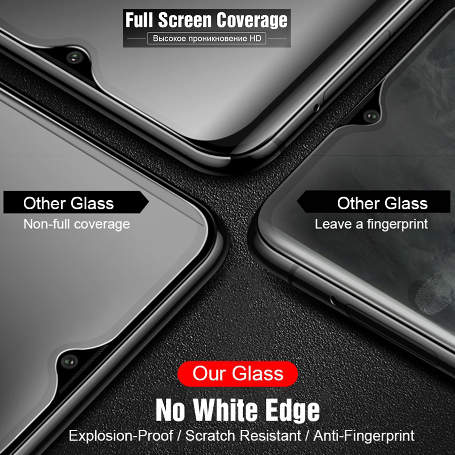 Image 4 - 6D Glass for Xiaomi Redmi K20 Pro Mi 9T 7A Screen Protector Mi9T Mix 3 2S Tempered Glass for Xiaomi Mi 9T 9 SE Pro Pocophone F1-in Phone Screen Protectors from Cellphones & Telecommunications