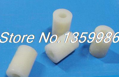 200Pcs 3mm Fia Round High Quality ABS Nylon Spacer 8mm For Isolating PC Board fia deluxe