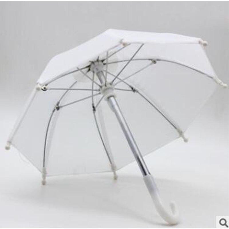 New Style Mini Umbrella Rain Gear For 18 Inch American Baby Doll Life Journey Dolls Accessory Birthday  For Children