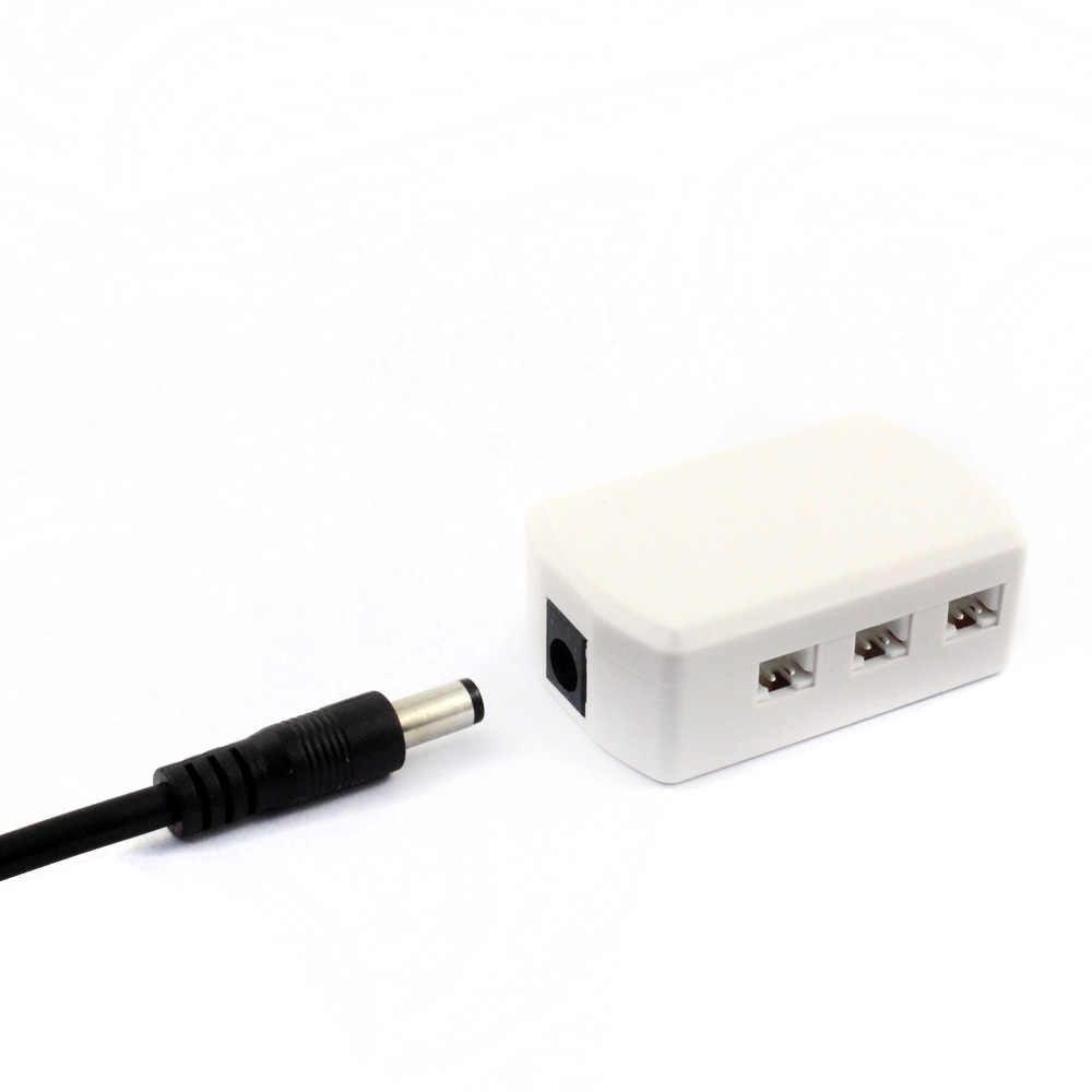 Junction Box 1 To 6 Port 12v 24 Volt Spliter Distributor For Led Puck Light Under Cabinet Lighting Downlight Spotlight Bulb Lamp