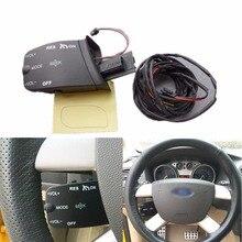 1 satz Lenkrad-steuerung Tasten Lautstärke Tempomat-schalter Für Ford Focus 2005-2011