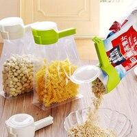 Snack Clip di Tenuta Fresh Keeping Sealer Fascetta in Plastica Aiuto Alimentare Saver Viaggio Gadget da Cucina Sigillo di Versi di Conservazione Degli Alimenti Clip Del Sacchetto|Fermagli per sacchetti|   -