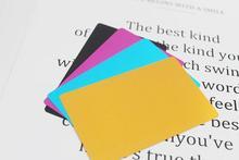 HZPR1-Metal визитная карточка тонкий 0,2 мм Лазерная Маркировочная визитная карточка гравировка и отладка материалы алюминиевая визитная карточка