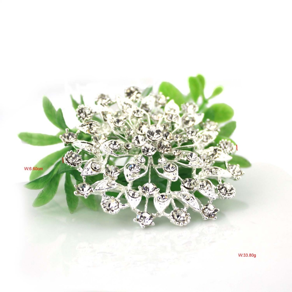 P28 52 Free Shipping 13PC Lot Classic Traditional Korean Style Cheap Wedding Bridal Brooches Crystal Gifts In From Jewelry Accessories On