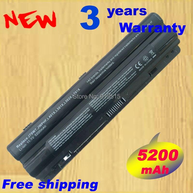 <font><b>Battery</b></font> for Dell XPS 14 15 17 L401x L501x L502x L701x <font><b>L702x</b></font> 312-1123 J70W7