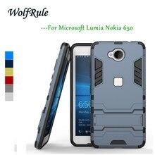 Wolfrule антидетонационных case для microsoft lumia 650 крышка тпу + pc телефон владельца для microsoft lumia 650 case для lumia n650 case