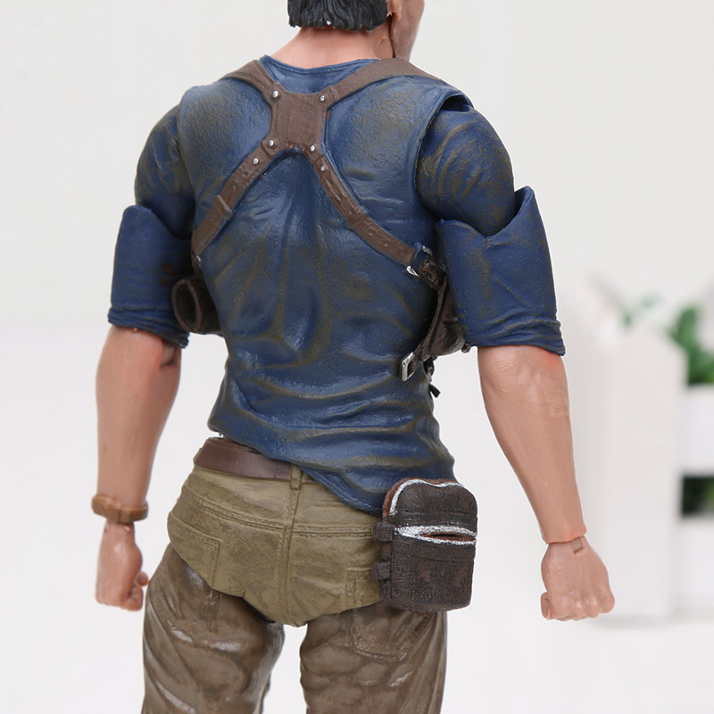 Image 3 - 15cm NECA Uncharted 4 A thief's End Figures Nathan Darke Ultimate Edition PVC Action Figure Collectible Model Toy For Gifts-in Action & Toy Figures from Toys & Hobbies