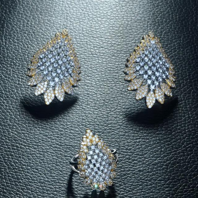 Купить женский комплект ювелирных изделий be 8 роскошный геометрического