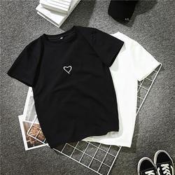 Мода 2018 г. Harajuku футболка для женщин с принтом букв хип хоп хлопок O образным вырезом короткий рукав корейский стиль футболки NEZ0005