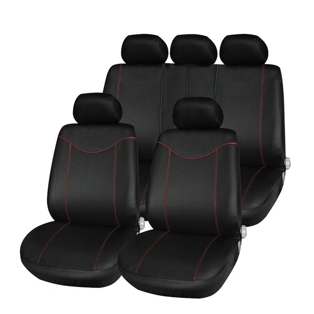 Car Seat Cover Low-back Wrap Set Water-resistant Anti-Dust 11Pcs  Auto Car Cushion Protector Interior Accessories Car-covers