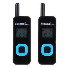 2 PCS Super Mini Walkie Talkie 22CH 2.5W UHF 430-470Mhz PMR446 VOX LCD Display Ham Radio FM Transceiver Two Way Radio