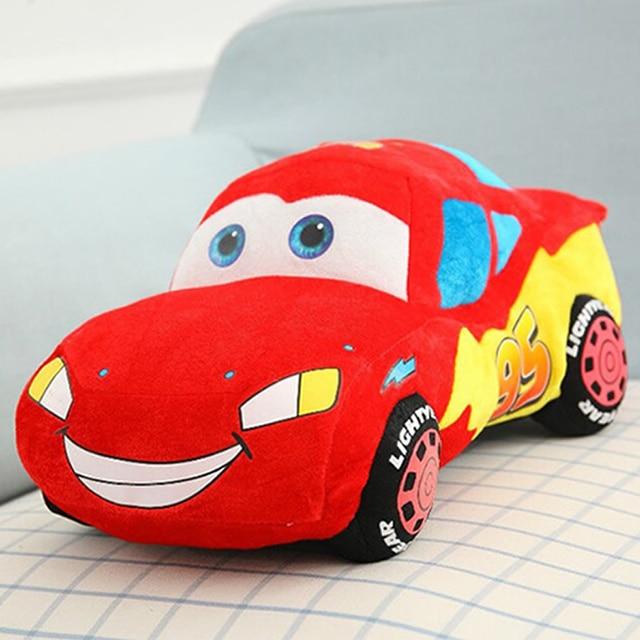 free shipping new pixar cars plush doll toy soft cartoon pillow brinquedos mcqueenes toys