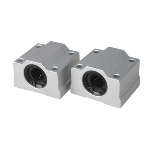 MYLB-2Pcs 12mm SC12UU Linear Motion Ball Bearing Slider Slide Bushing Replacement CNC scv25uu 25 mm linear motion ball bearing slide unit bushing