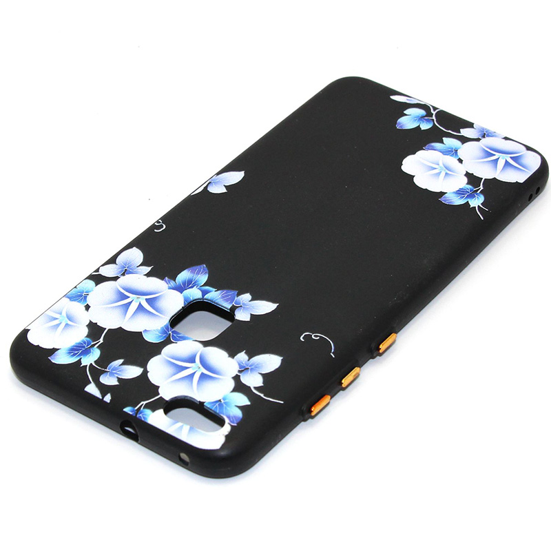 3D Relief flower silicone huawei P10 lite (20)