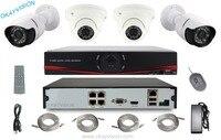 P2p Nvr Kit 4ch Poe Nvr Ip Camera Kit Ip Cctv Camera Systems 4ch H 264