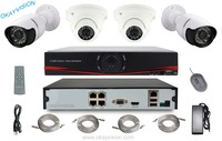 P2p Nvr Kit 4ch Poe Nvr Ip Camera Kit Ip Cctv Camera Systems 4ch H 264