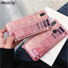 Meachy Fashion Makeup Silicone Phone Case Cover For Huawei P20 Lite Pro P30 Mate 10 20 P10 Honor 9 V20 Nova 2s 3 3i