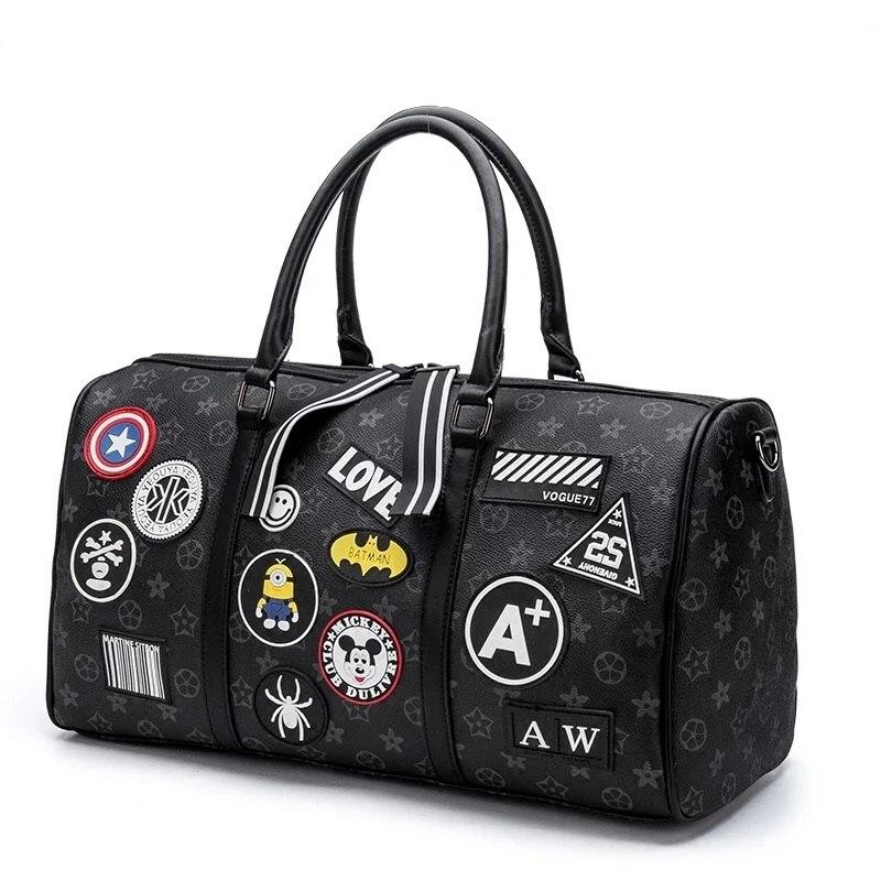 ยอดนิยมยี่ห้อ luxury travel กระเป๋าแฟชั่นกระเป๋าถือพกพารถเข็นกระเป๋าไหล่กระเป๋าสำหรับสุภาพสตรีผู้ชาย-ใน กระเป๋าเดินทาง จาก สัมภาระและกระเป๋า บน AliExpress - 11.11_สิบเอ็ด สิบเอ็ดวันคนโสด 1