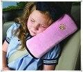 Almohada del bebé Safety Car Auto Cinturón de seguridad de Hombro Almohadilla de Protección de la Infancia cubiertas Para Peugeot 206 208 307 308 407 408 508 3008 4008