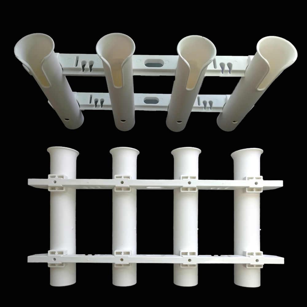 Soporte de tubo para caña de pescar, canoa de Kayak, tubo montado en yate, soporte para poste de tubo, Kit de caja de pesca marina